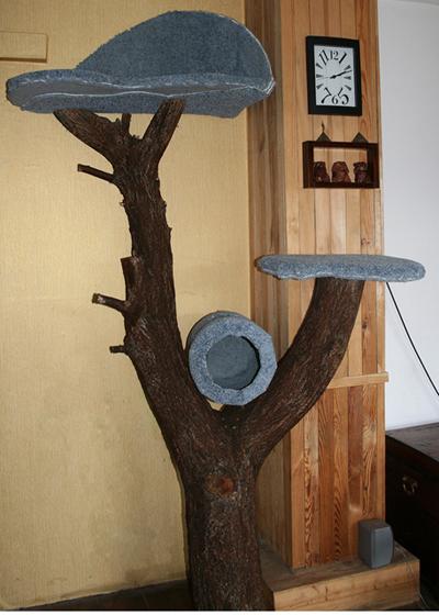 Дерево для котов своими руками