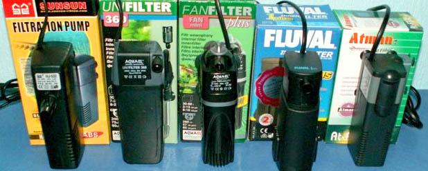 фильтр фото для аквариума
